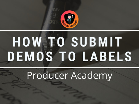 How to submit demos to labels