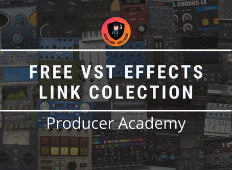 Free VST effects link collection
