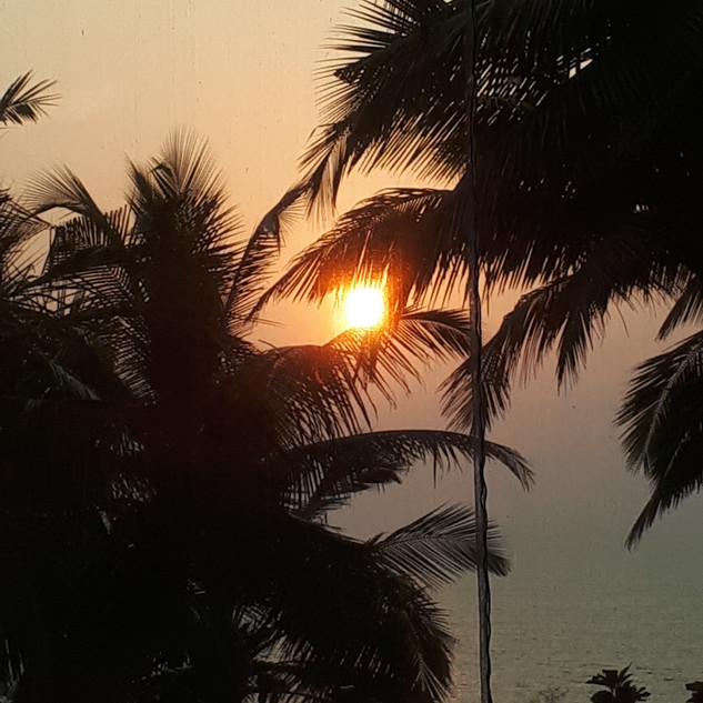 Goan Sunsets - Pure joy