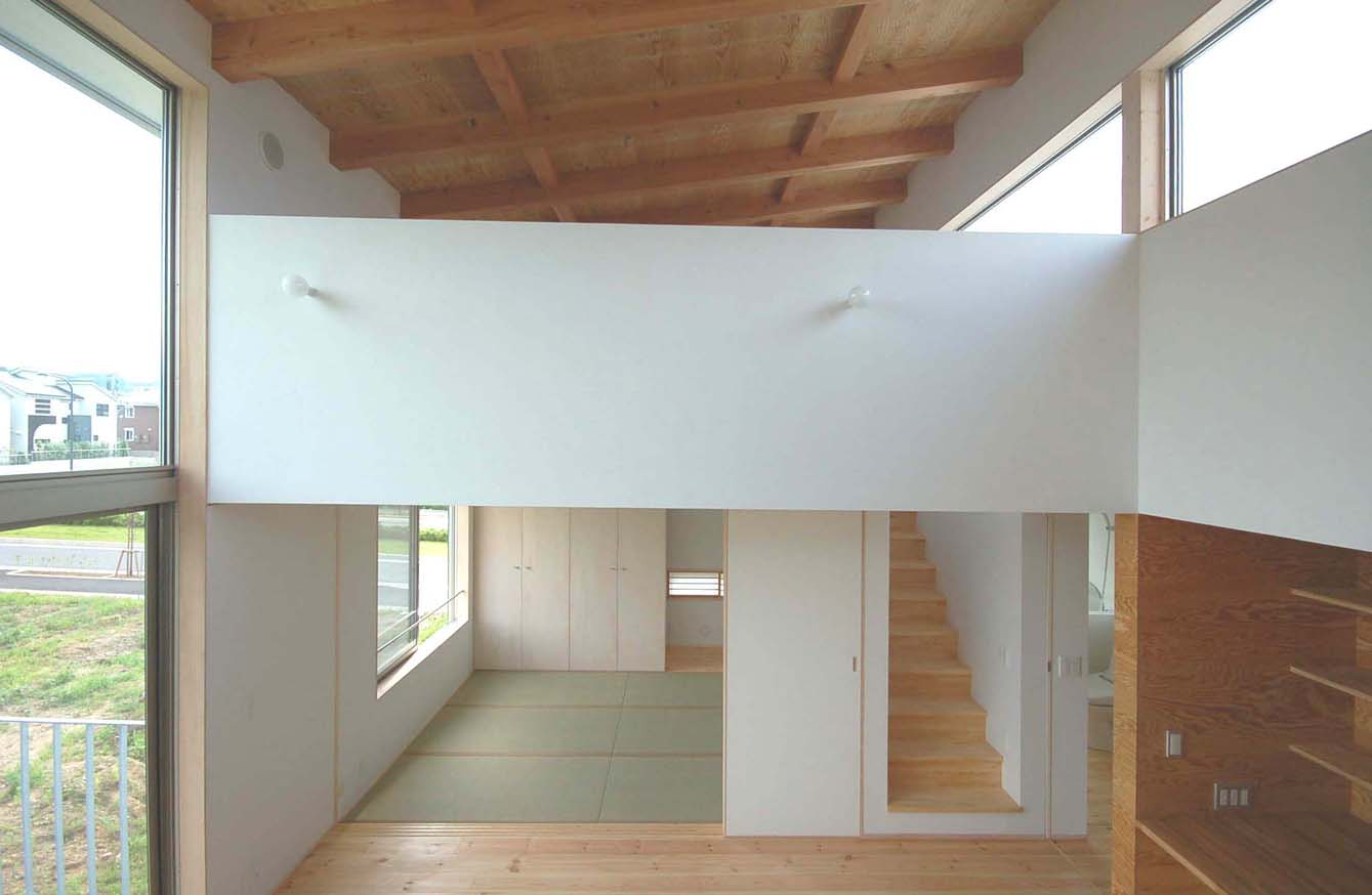 縦縞の家2世帯住宅  東京都八王子市  hachiouji Tokyo