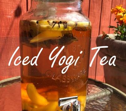 Iced yogi tea