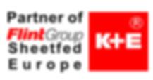 Logo Partner of Flint Group Sheetfeed Europe K+E