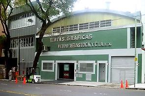 Fachada de la Empresa sobre Av. Pedro Goyena, en CABA