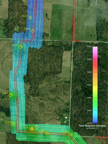 Magnetic Corridor Survey