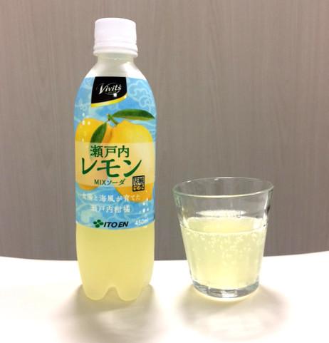 伊藤園 Vivit's 瀬戸内レモンソーダMIX