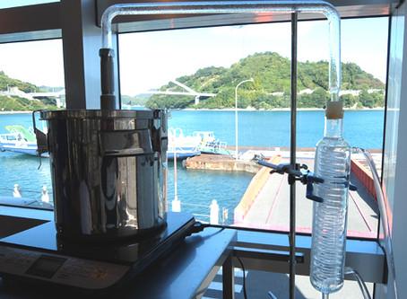 ネロリの島caféでゆるりと蒸留体験。