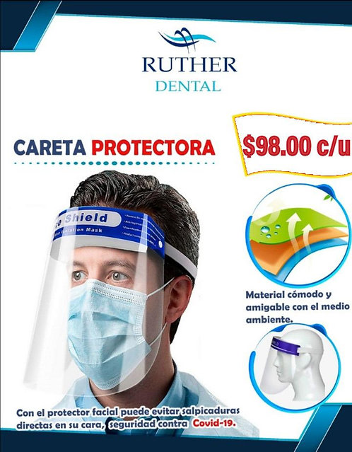 Careta Protectora Face Shield