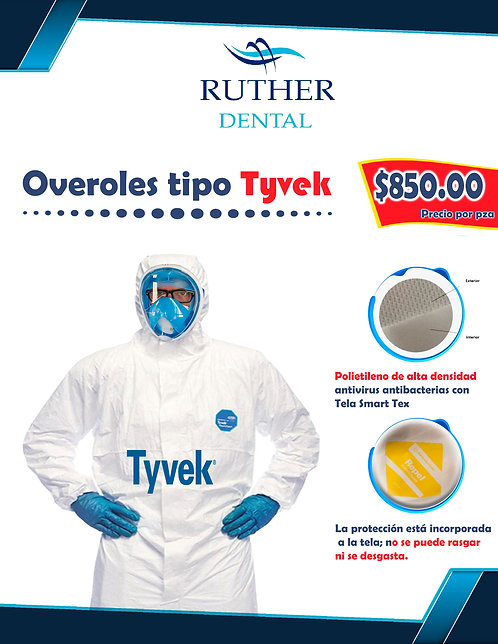 OVEROL TIPO TYVEK Kimberly - Clark Professional