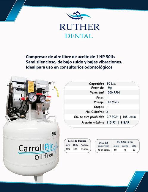 Compresor 50lt 1 hp Carrol Air