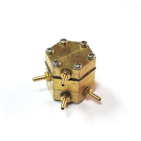 Válvula de agua controlada por aire (hexagonal)