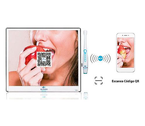 Monitor SLIM HD con Mouse y Cámara intra oral