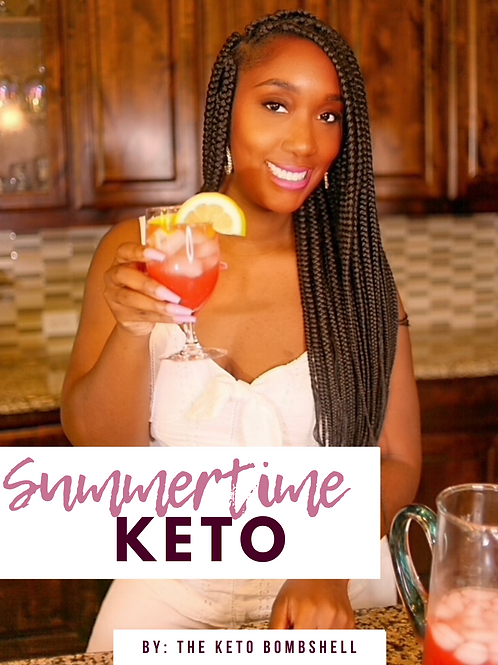 The Summertime Keto Cookbook