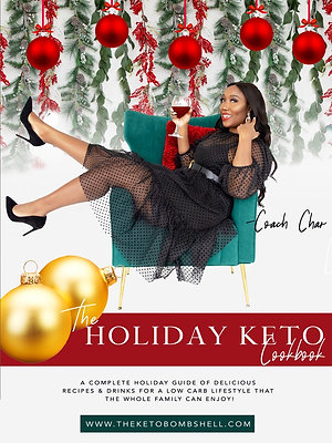 The Holiday Keto Cookbook (Digital Download)
