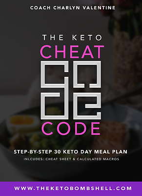 THE CHEAT CODE- 30 Day KetoMeal Plan