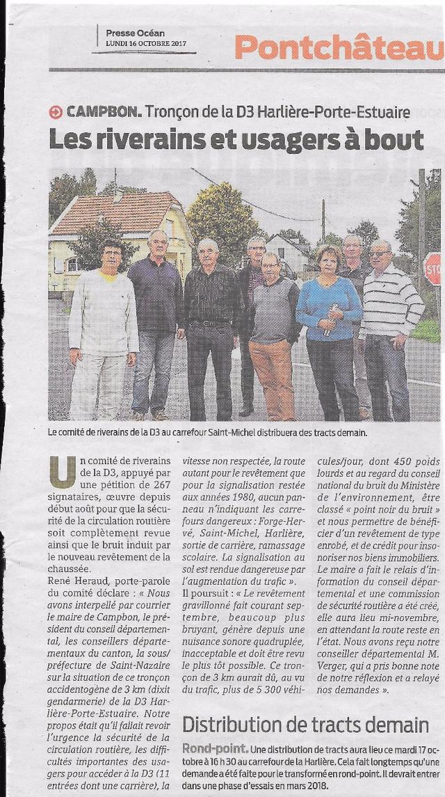 Presse Océan - 16/10/207