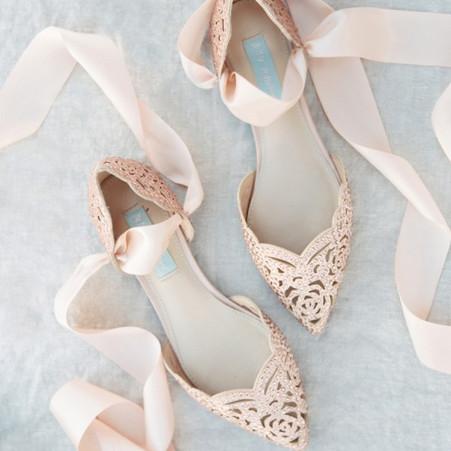 Fabulous Inspiration For Flat Wedding Shoes
