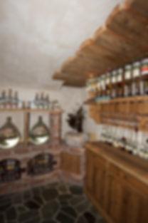 Shop der Brennerei Grünegg
