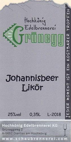 Johannisbeer Likör