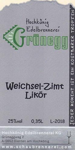 Weichsel-Zimt Likör