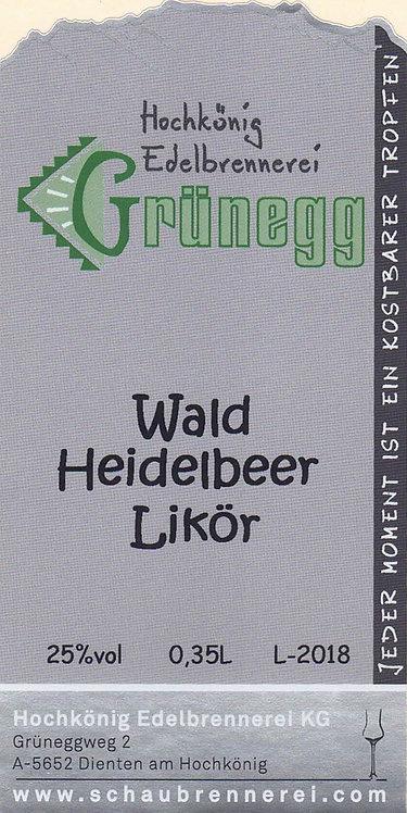Wald-Heidelbeer Likör