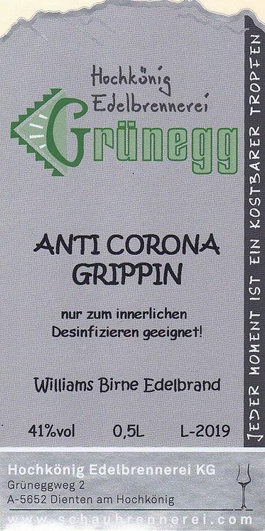 """Williamsbirne Edelbrand """"Corona Edition"""""""