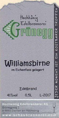 Williamsbirne im Eichenfass