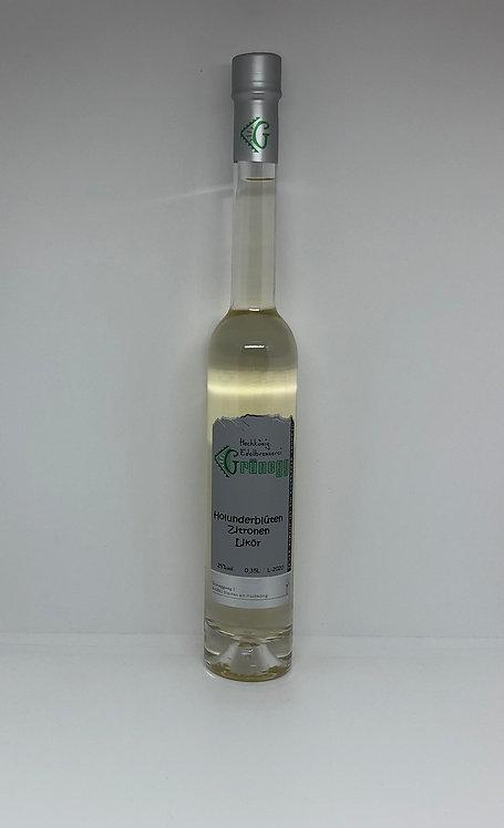 Holunderblüten-Zitronen Likör