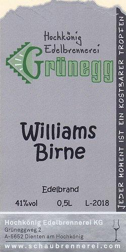Williamsbirne Edelbrand