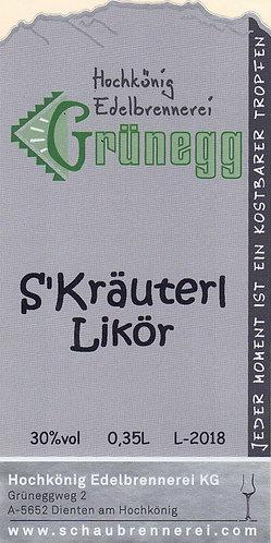 S'Kräuterl Likör
