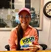Melissa Arias at KRSN.