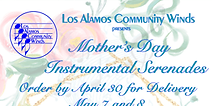 Flyer for Mother's Day Instrumental Serenades