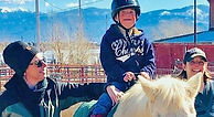 Lemonade Living is 'making life sweet' for others through its therapeutic horseback riding programs.