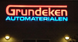 Grundeken LED letters