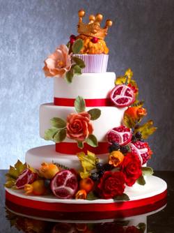 Foto torta rossella trapani