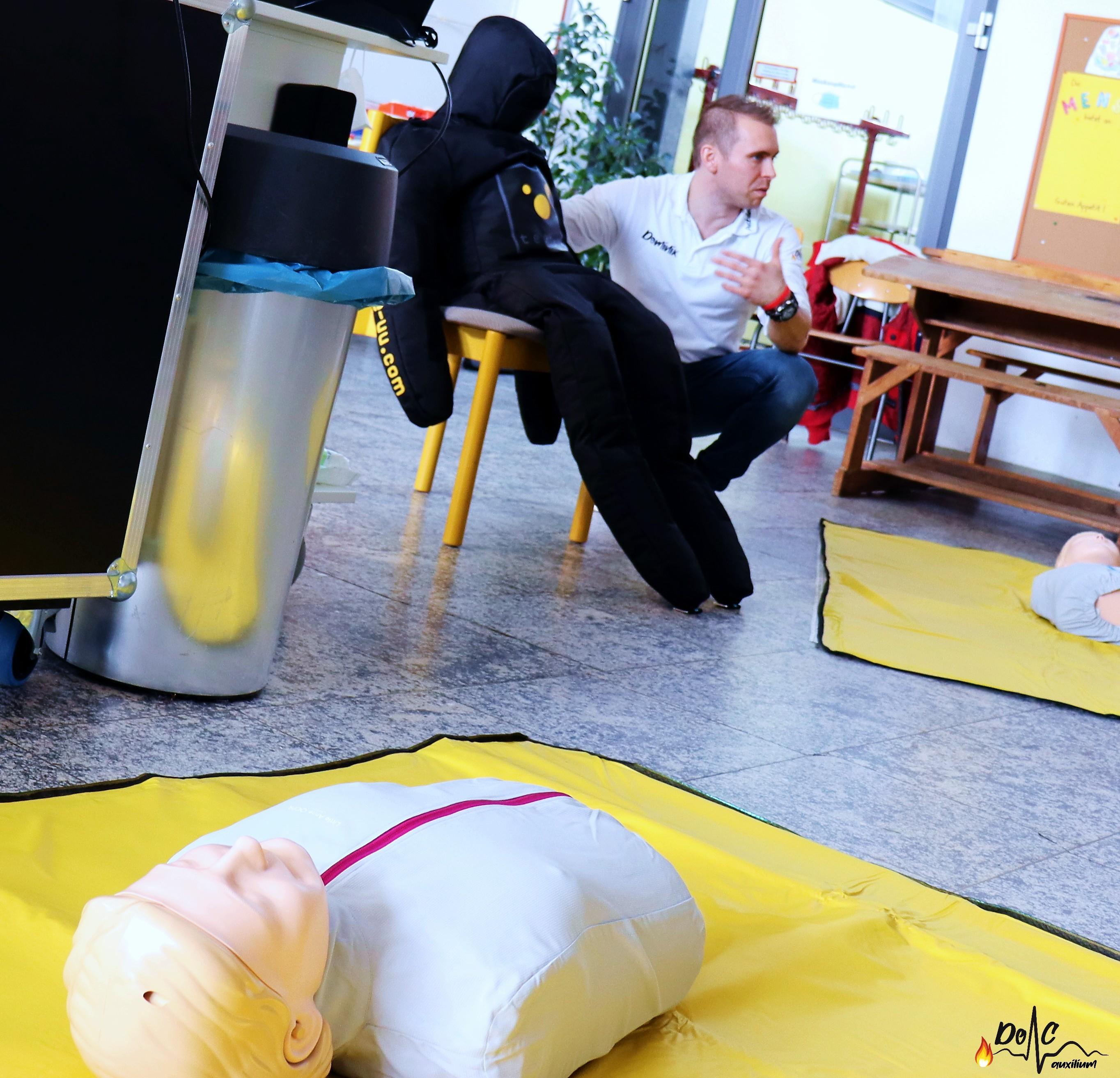 Rettungsgriff Erste-Hilfe