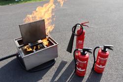 Unterweisung Brandschutzhelfer