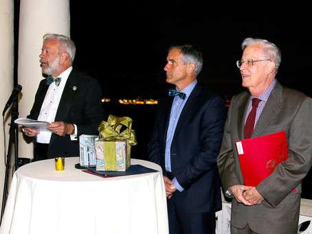 Saturday, September 30, 2017 -      Barnett Shepherd addresses PLSI Gala: Preservation Milestones i
