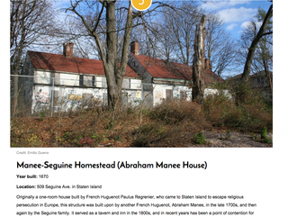 Staten Island is well represented in Secrets of NYC's oldest houses