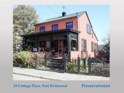 Landmarked house in Port Richmond