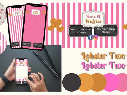 Complete Rebrand - World of Waffles