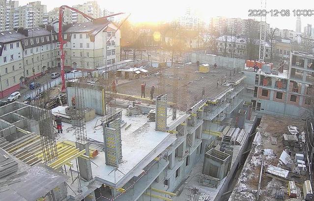 Ход строительства от 26.12.2020
