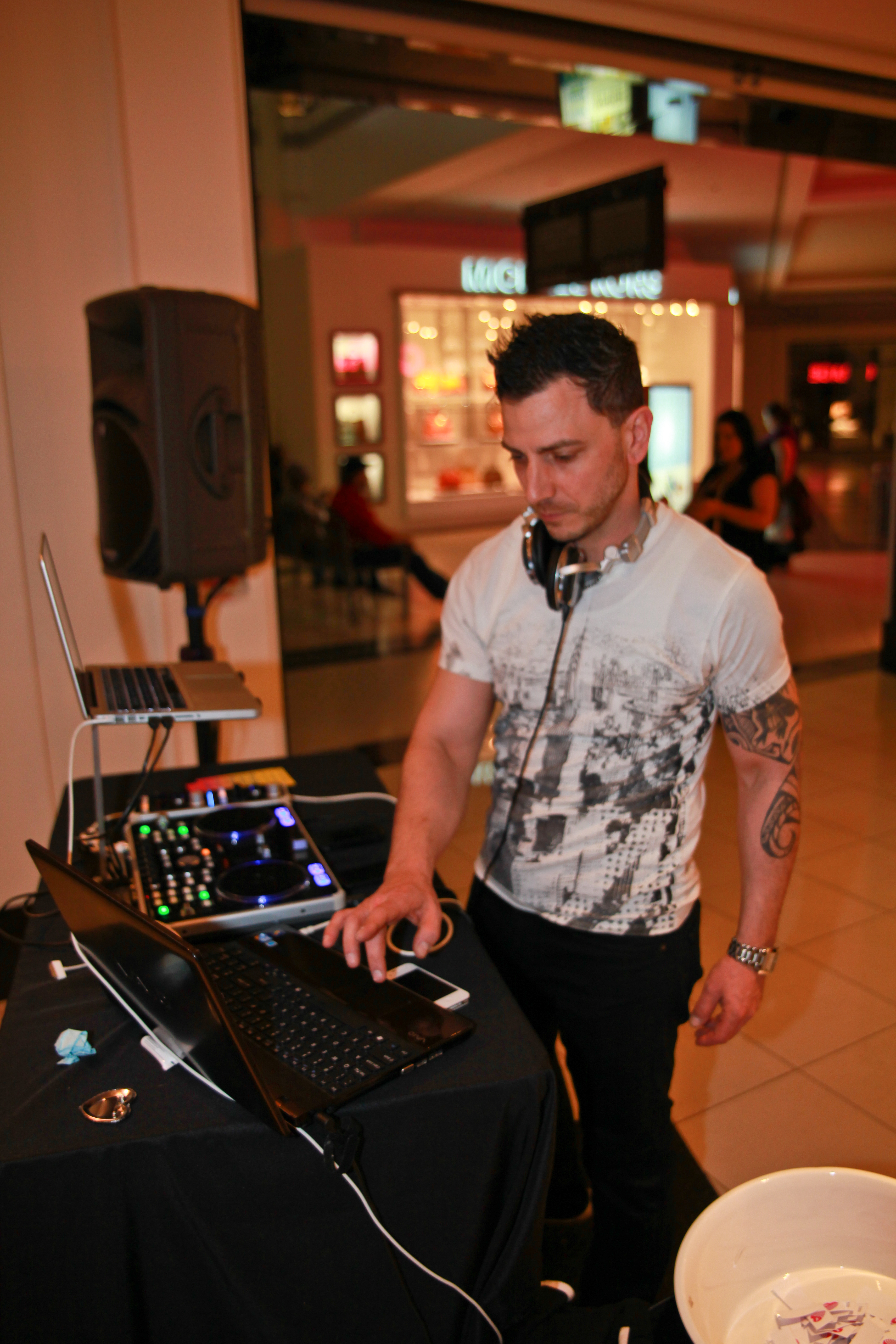 Spinning at Victoria's Secret