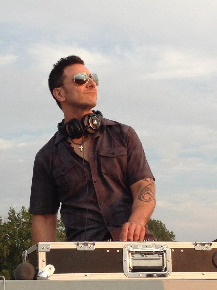 DJing on the Beach