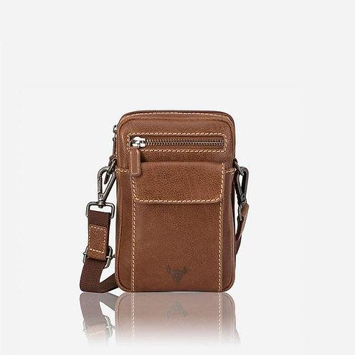 Brando Edge Crossbody Travel Bag - Tan