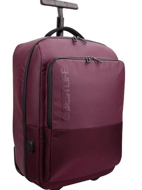 BestLife Mochila Neoton Trolley Backpack - Plum