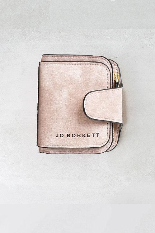 Jo Borkett Small Bi Fold Purse - Pink