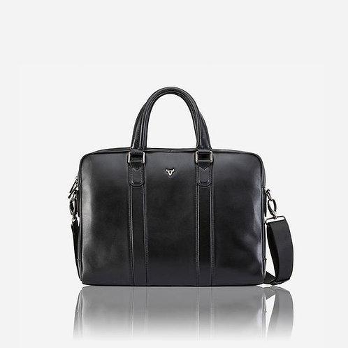 Brando Cassidy 15 Inch Slimline Laptop Briefcase - Black