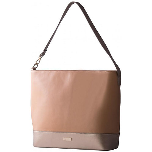 Pierre Cardin Hayley Handbag - Tan Two Tone