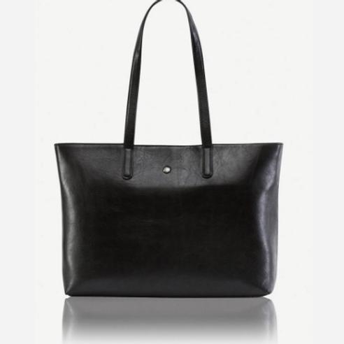 Jekyll & Hide Madrid Laptop Handbag - Black
