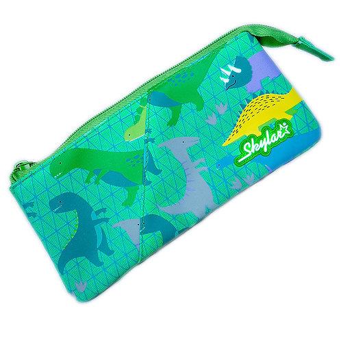 Skylar Dinosaur Soft Pencil Case